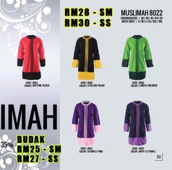 Baju Muslimah 8022 Copy