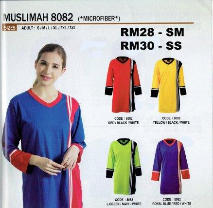 Tshirt muslimah microfiber enzo