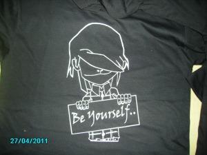 Design tshirt kartun