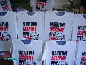 tshirt diver