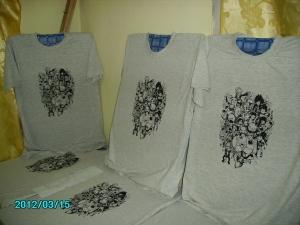 cetak tshirt kartun