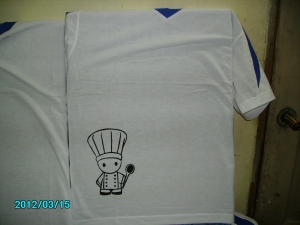 t shirt catering