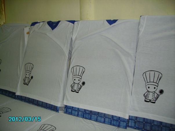 baju cetak catering
