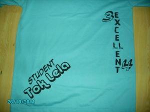 t shirt kelas