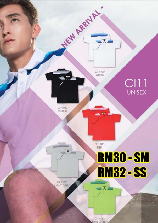 CI 11XX cotton interlock oren sport