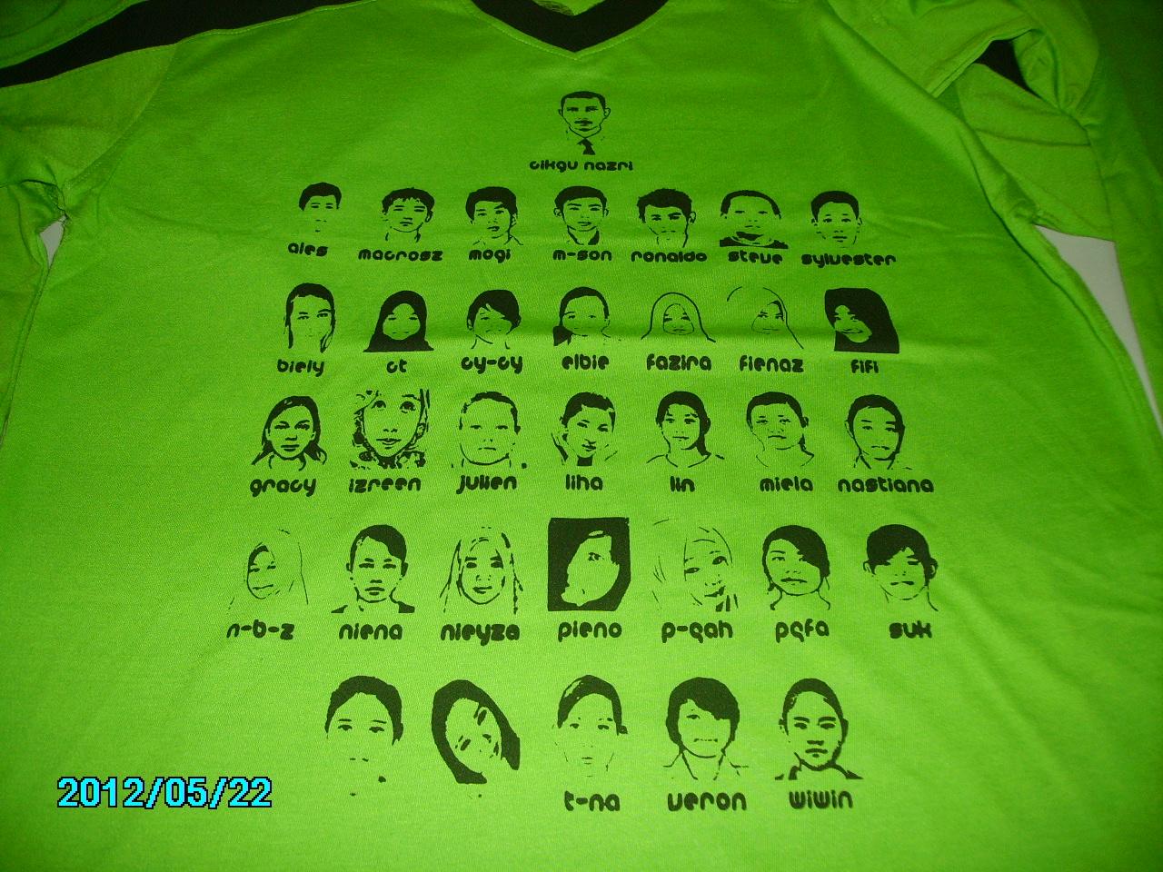 Contoh design tshirt kelas - T Shirt Kelas