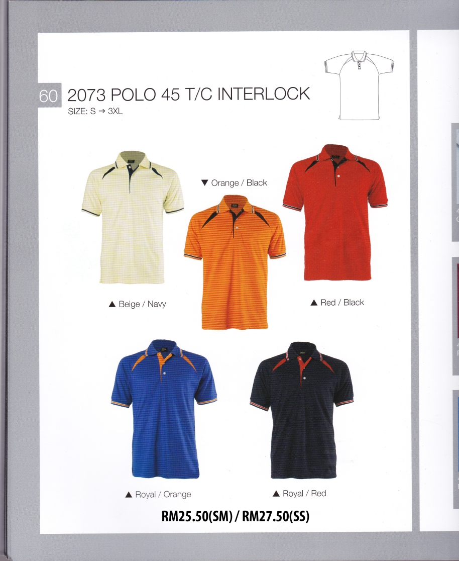 baju cotton interlock enzo