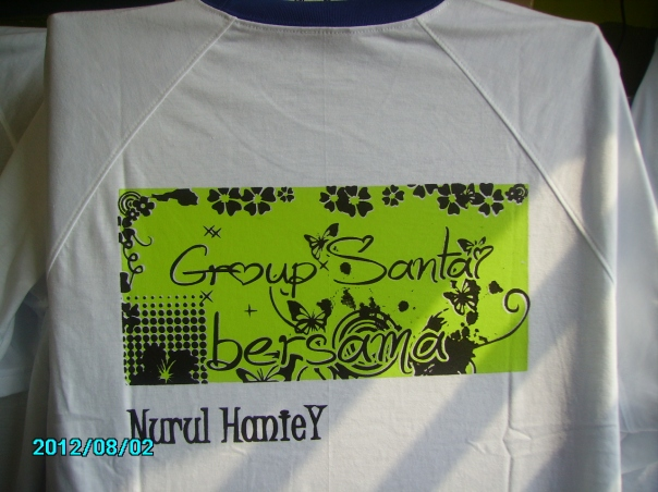 baju grup cetak