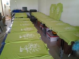 cetak baju kumpulan
