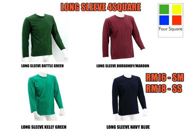 Katalog Long Sleeve 4square