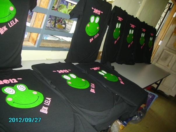 design tshirt kelas