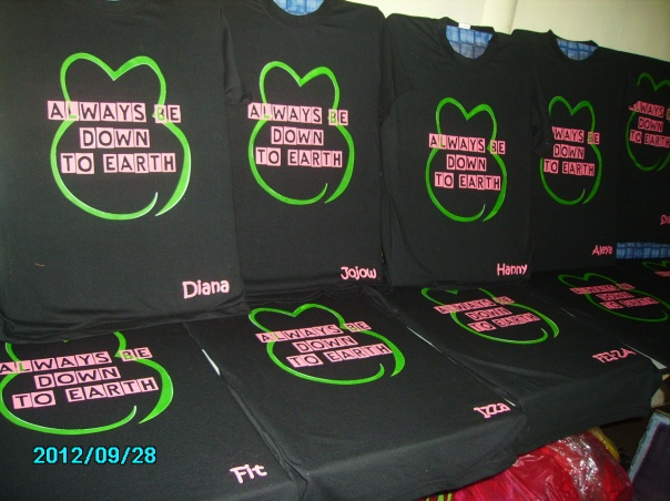 contoh design baju kelas