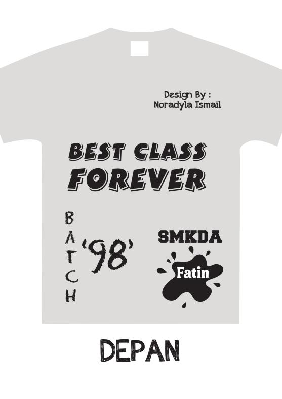 Design Baju Fatin Depan   mohcetakbaju.com