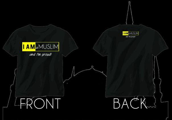 Design Baju I am muslim