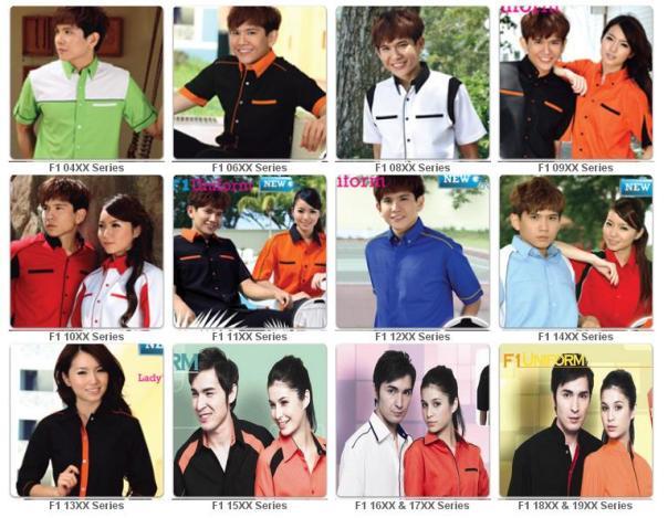 Gambar Baju F1
