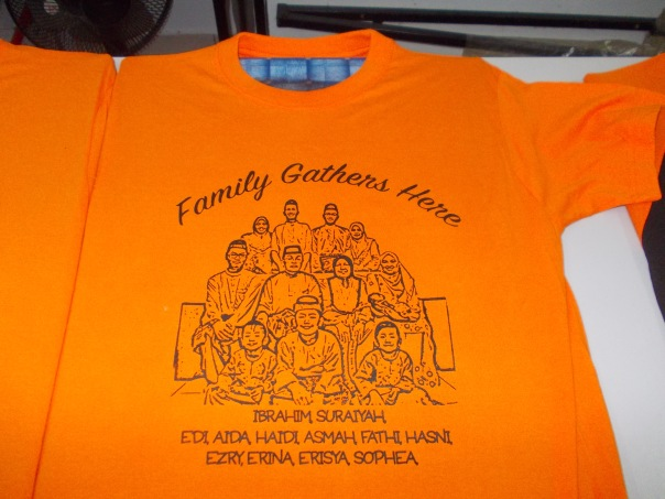 t shirt family day