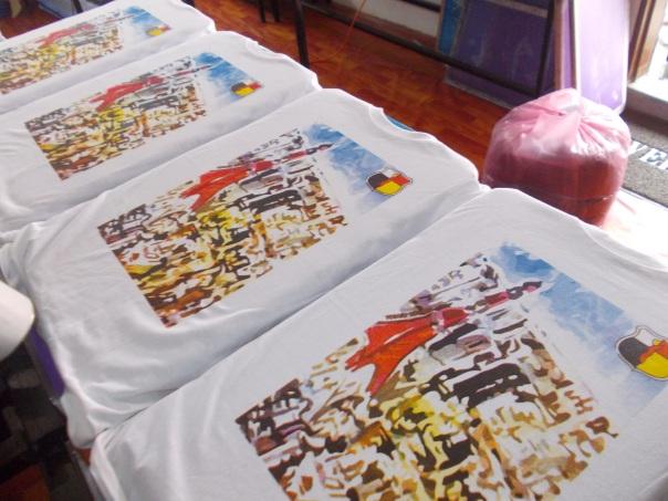 cetak baju