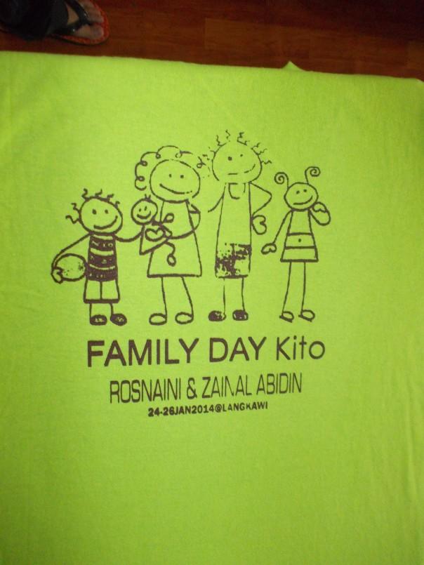 cetak baju keluarga
