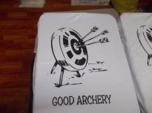 cetak baju memanah