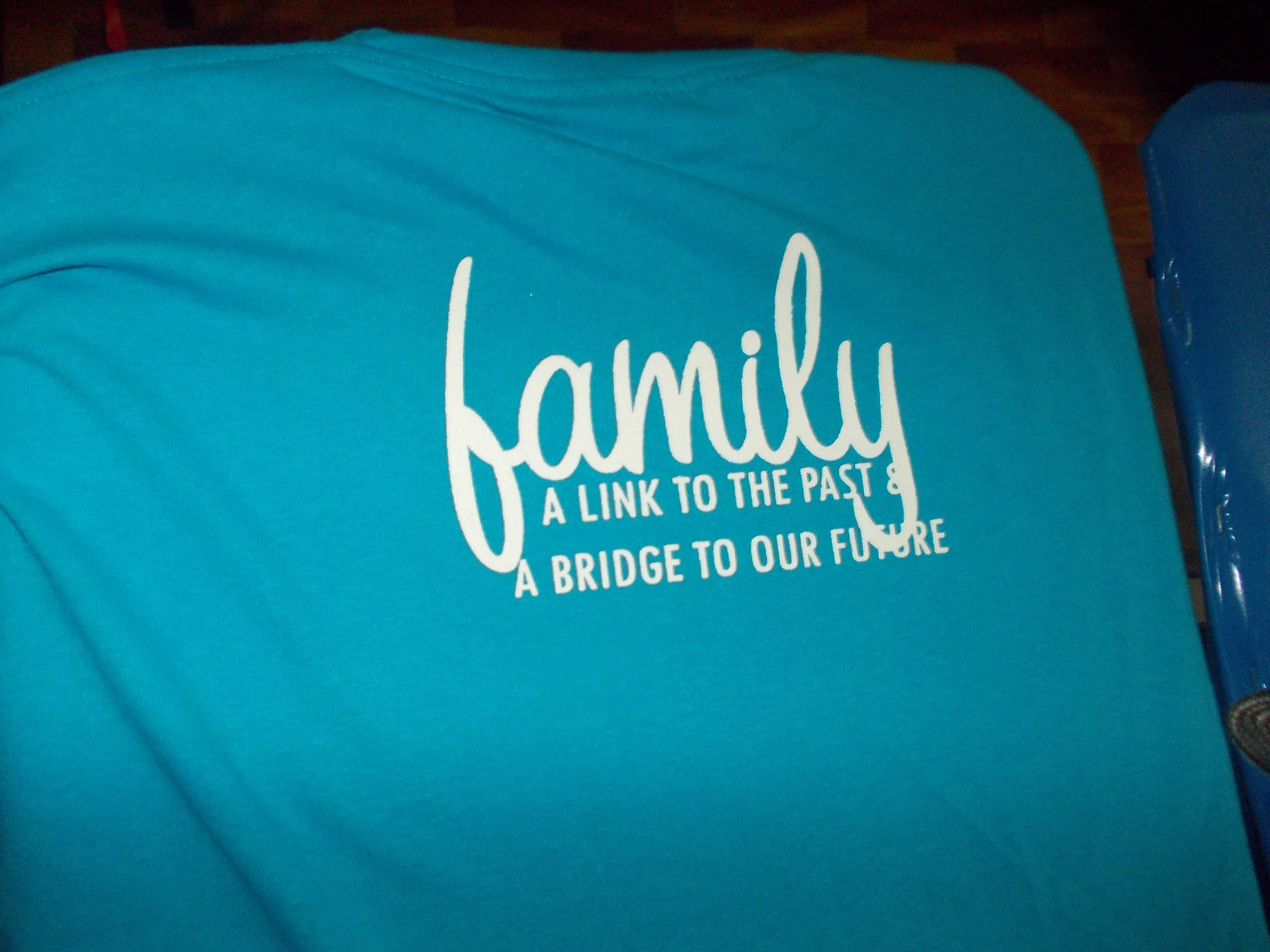 Design t shirt rewang - Family Day Tshirt