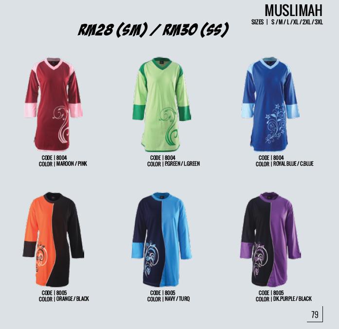 Kod 8004 & 8005 Muslimah