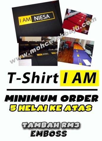 Iklan TShirt I AM 3