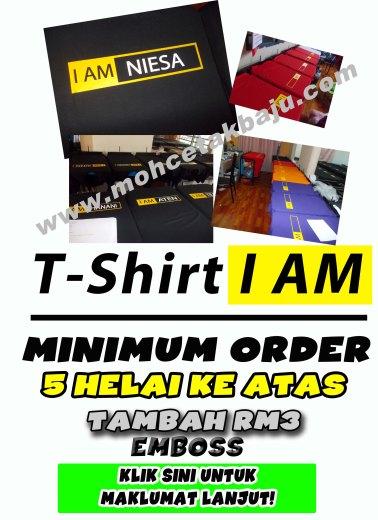 Iklan TShirt I AM 4