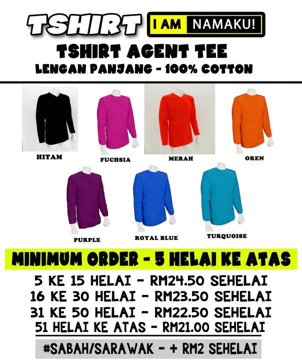 TShirt I AM Long Sleeve Agent Tee 2