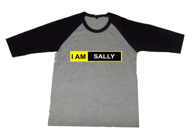 Design Baju Raglan I AM 2015