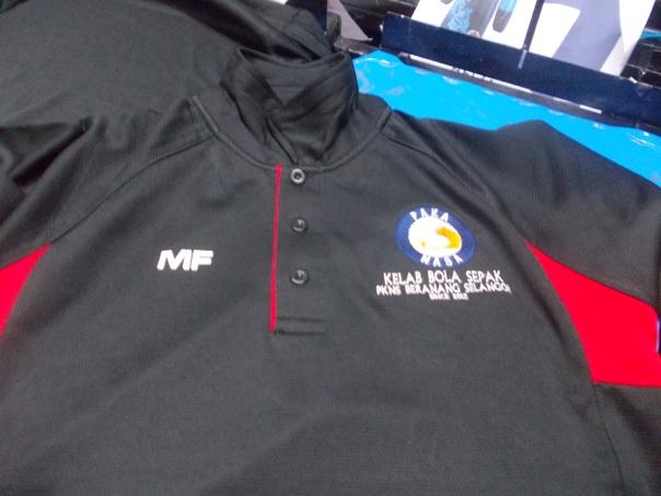 tshirt sulam logo
