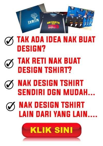 Iklan Design TShirt