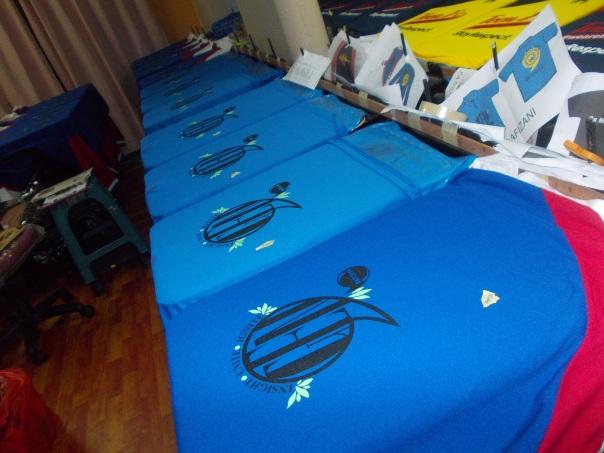 baju kelas cetak