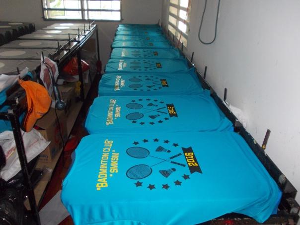 tshirt badminton