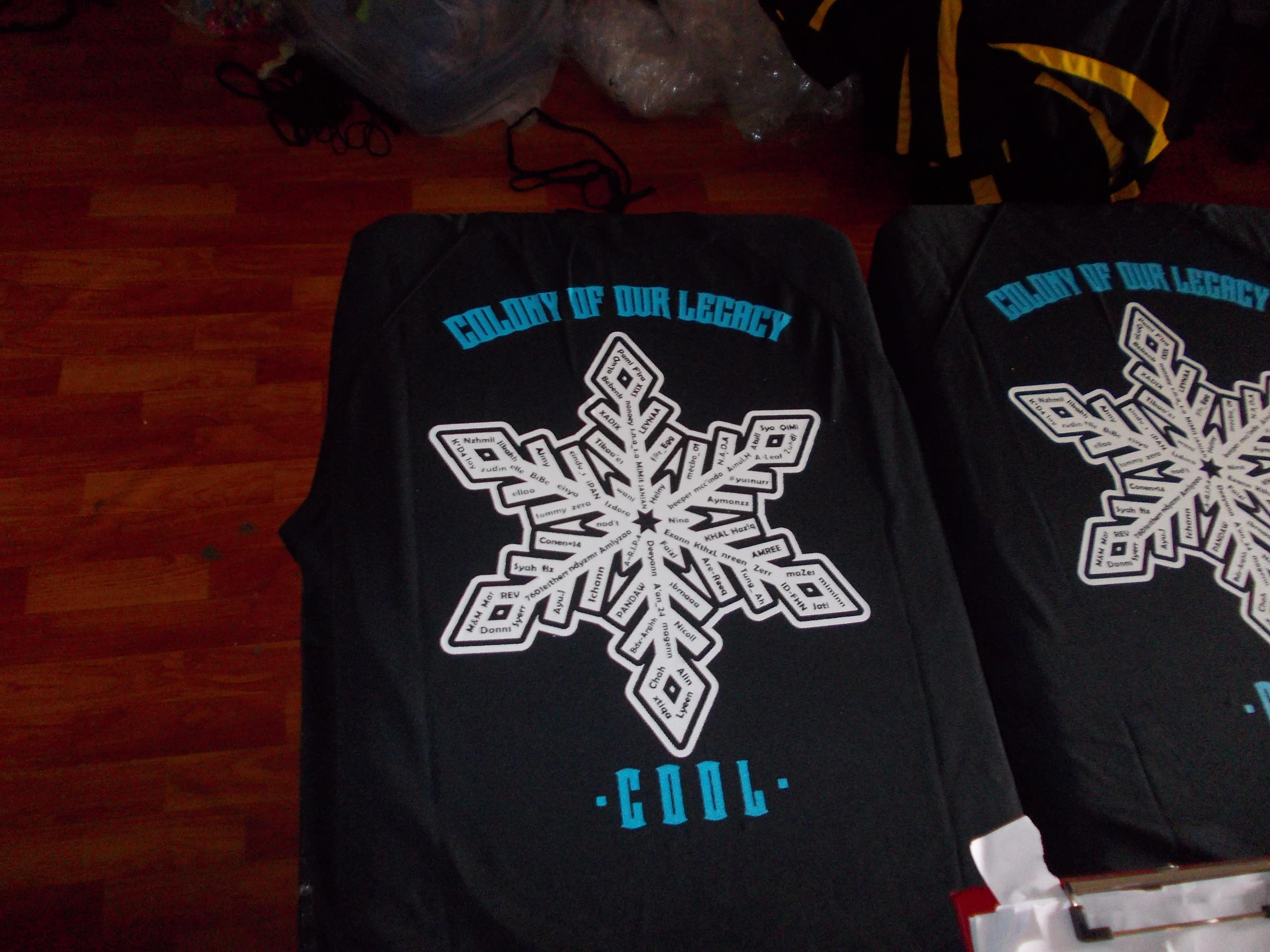 Designs contoh baju t shirt design baju berkolar shirt berkolar - Ini Tshirt Kelas Dari Sarawak Walaupun Pada Asalnya Design Dia Tak Jelas Pecah Bila Dibesarkan Tapi Bila Saya Upah Designer Saya Untuk Lukiskan Balik