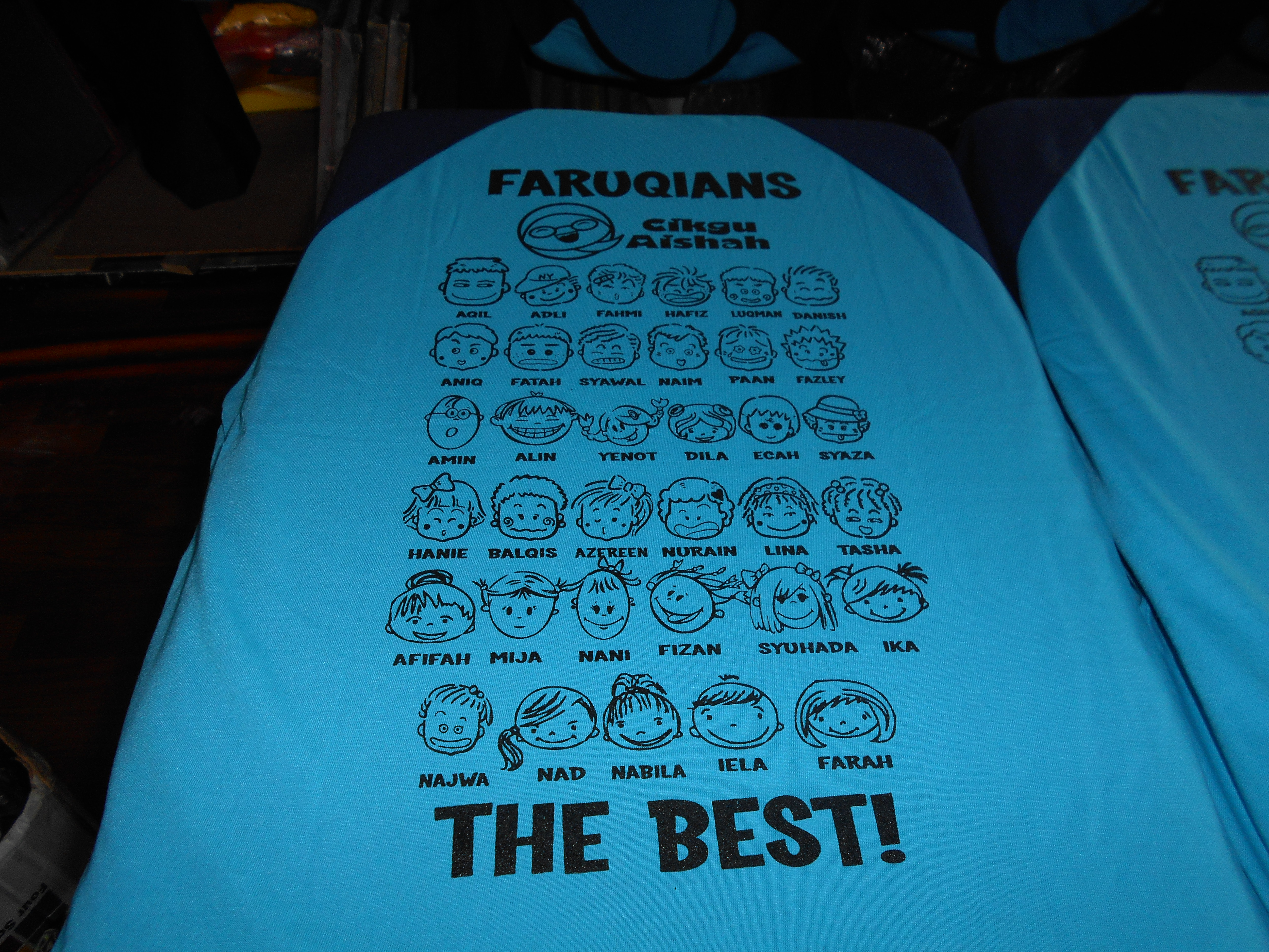 Design t shirt rewang - Tshirt Kelas