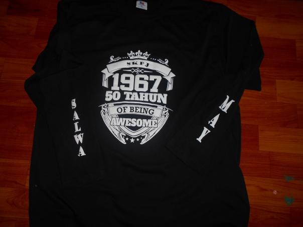 cetak tshirt emboss