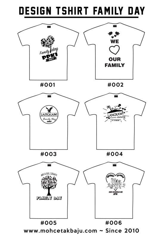 Design Baju Family Day 1 Mohcetakbaju Com